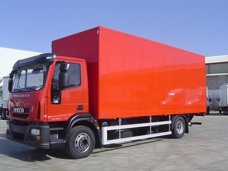 carrocería de camión